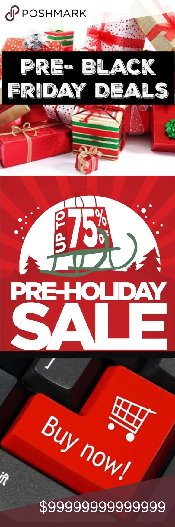 🎄🎁 3 DAY SALE - PRE BLACK FRIDAY SALES NOW 🎁🎄 Get Your Holiday Shopping Started Now And Enjoy Savings Up To 75% Off!!!!! I'm Currently Accepting All Reasonable Offers Through The Offer Button!!! And Don't Forget To Bundle And Save Even More!!! Sweaters