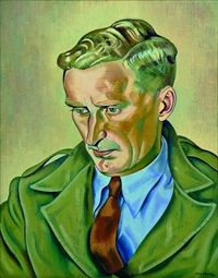 Portrait of the artists younger brother, Alan Angus by Rita Angus