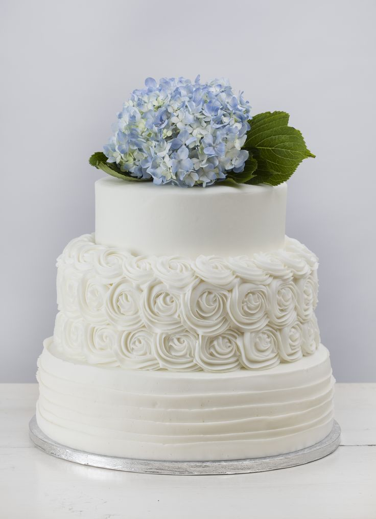 """""""Amelia"""" with Rosette Tier from Martin's Bake Shoppe"""