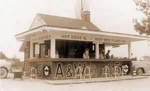 A&W Restaurant | The first A&W Root Beer Stand [8]