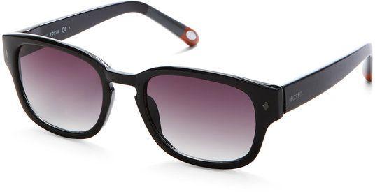 072b9c6042 Fossil Tipped Wayfarer Sunglasses