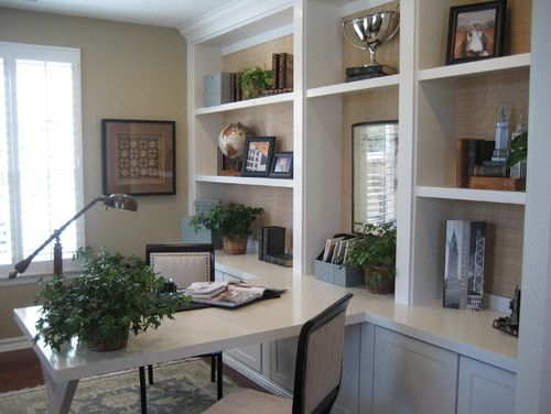Home Office Built-in Desk Design, Pictures, Remodel, Decor and Ideas - page 24