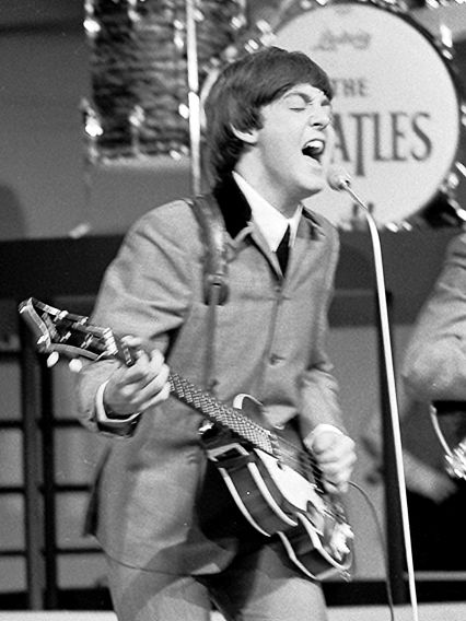 Music is entertainment's common denominator. That's why Paul McCartney could have been a math teacher. Picture the legend drawing slopes on your high school's blackboard.