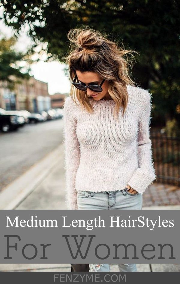 Medium Length Hair Styles for Women03