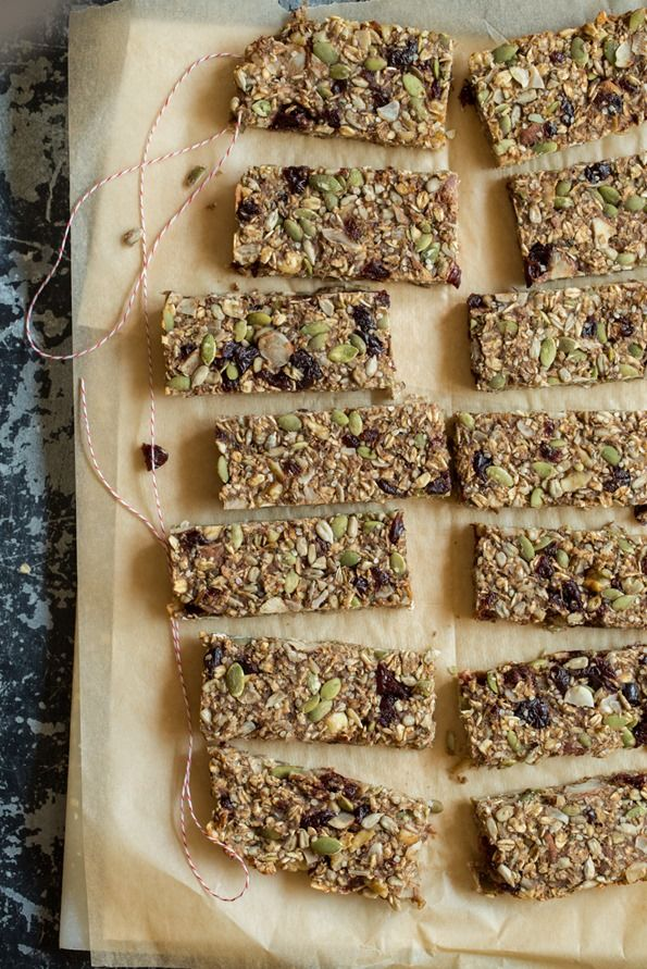 Feel Good Hearty Granola Bars — Oh She Glows