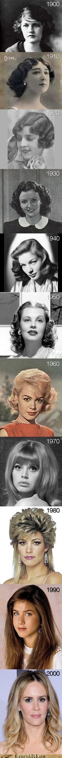 style through the years!