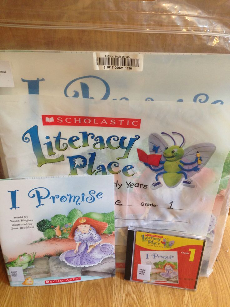 SI2.2- I Promise by: Susan Hughes Literacy Place Gr. 1. Perfect for Indicator 3.