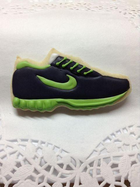 Tennis shoe by Kim's Kookies