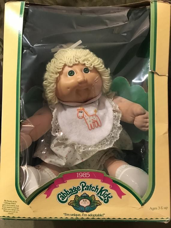 Vintage Cabbage Patch Kids In Box In 2020 Patch Kids Vintage Cabbage Patch Dolls Cabbage Patch Kids