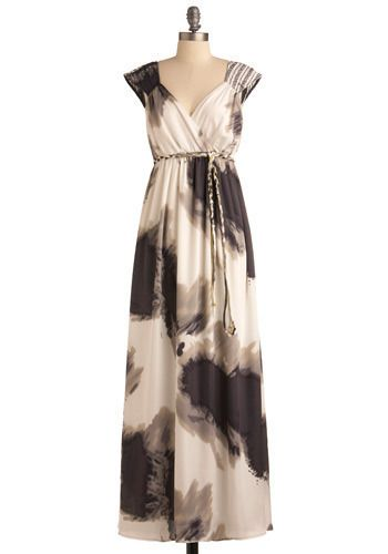 Dress That Launched 1000 Ships: Gorgeous! Love the dress and the reference. :) Pair with metallic sandals, a braided pewter bracelet, and beachy waves for a compelling Helen of Troy look. :) $149.99 at ModCloth.com