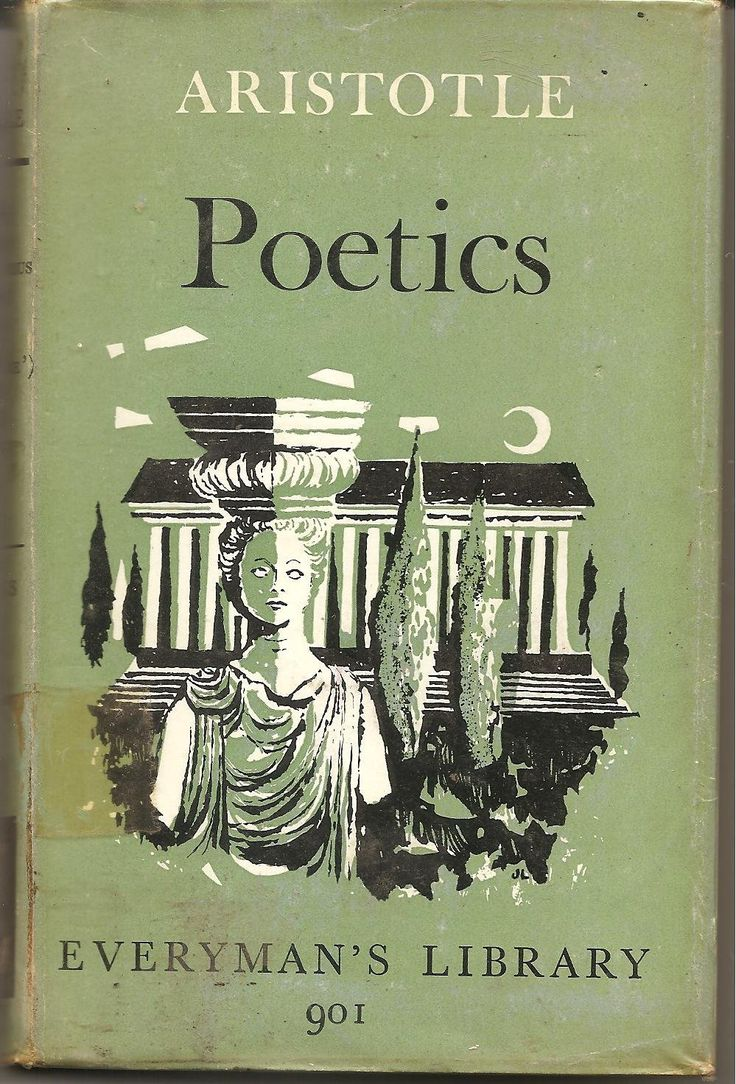 a literary analysis of the poetics by aristotle The poetics of aristotle -- hypertext and e-text.