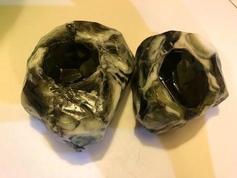 Каменное мыло! Изумруд. Кристалл в камне. Драгоценные камни из мыла. Soap stone! - YouTube
