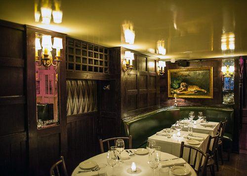 Take a Look Around Graydon Carter's Sexy Beatrice Inn
