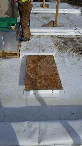 Repair PVC Flat Roof