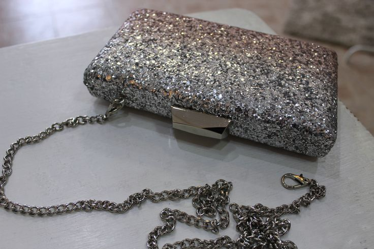 Diana Co. silver glittering bag