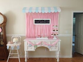 the Three Little Birdies: Kinsley's First Shabby Chic Birthday Party