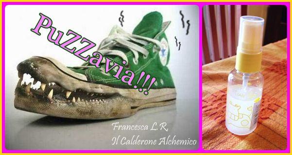 Il Calderone Alchemico Cosmesi Home Made: PUZZAVIA!!! SPRAY CONTRO GLI ODORI SGRADEVOLI (Francesca L. R.)