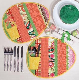 easter place mats   ... Tailor - Creativity Center - Project Sheets - Easter Egg Placemats