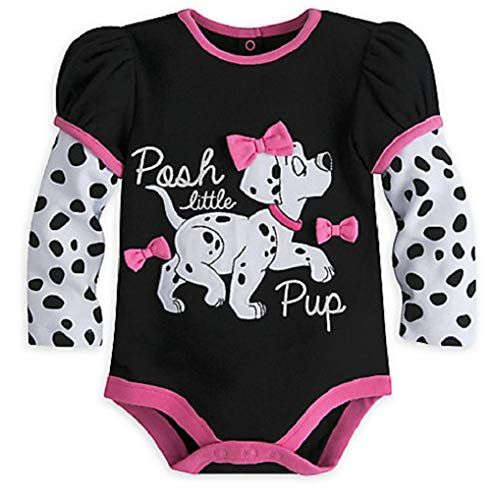a0d7a4456 Minnie Mouse Disney - 101 Dalmatians Long Sleeve Disney Cuddly Bodysuit For  Baby - Size 18-24 Months