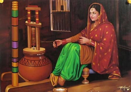 Lindsay: Beautiful Art Paintings, Indian Art Paintings, Indian Oil Paintings