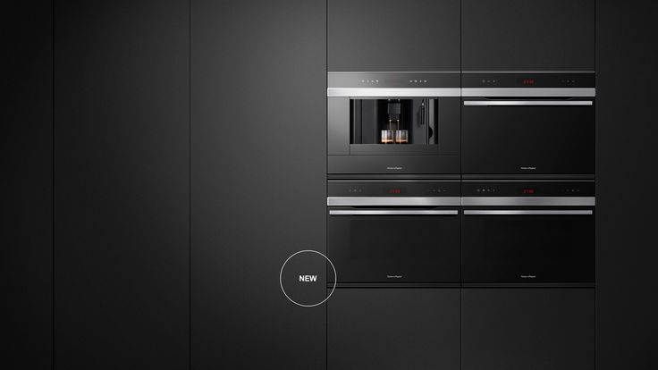 Compact Appliances - The Fisher & Paykel Kitchen Companion Product range is a modular family including a Coffee Maker, Combination Microwave, Steam Oven, Compact Oven and Warming Drawer. Each product is based on standard dimensions and together can be stacked vertically, placed side by side or in a two-by-two block.