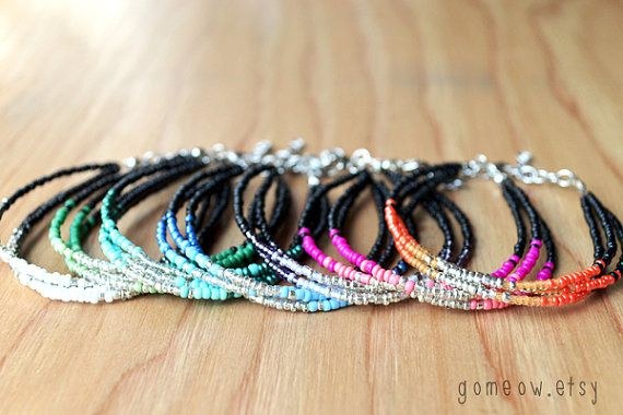 Friendship Friendship and    Bracelet melo Ombre NEW high       Bracelets Colors     Dainty jordan Adjustable air     Bracelets  Ombre