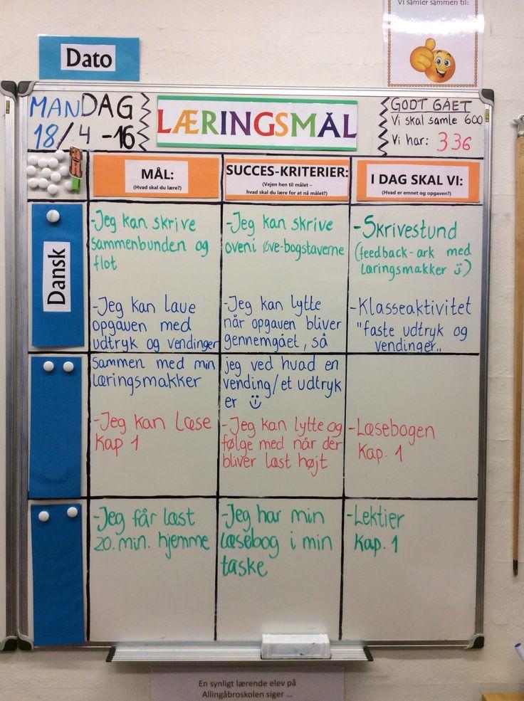 """Dagens læringsmål i 3 klasse... :-) Klasseaktivitten med faste udtryk var et hit ... Elever syntes det var sjovt at gætte på hvad vendingen """"Blød i bolden"""" mv betød..."""