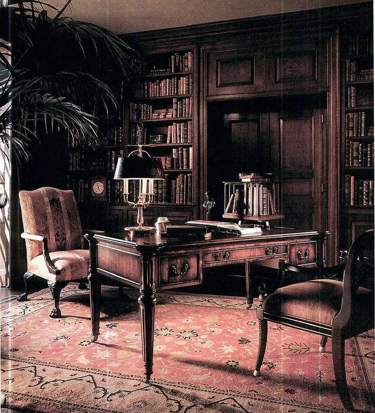 62 Home Library Design Ideas With Stunning Visual Effect: Mejores 113 Imágenes De Oficina En Casa Y Biblioteca