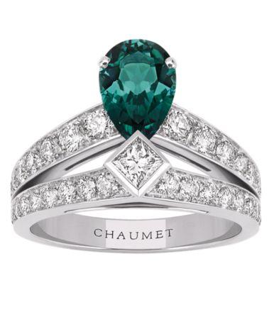 Chaumet - Joséphine : saphir vert