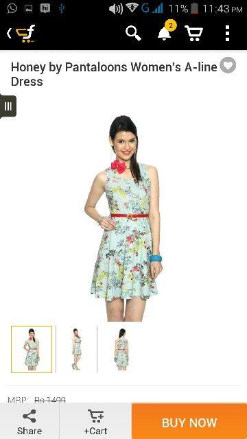 Nidhi ..gift us diz dress:-P (;-)simi.jot;-))