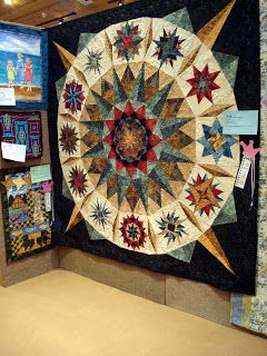 Just a small sampling of the approximately 148 quilts that hung in our quilt show this past weekend.  I must say, we have so many talented...
