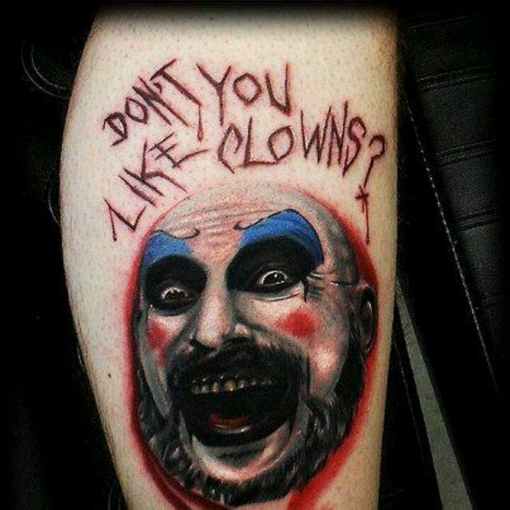 1000+ Images About Captain Spaulding Tattoos On Pinterest