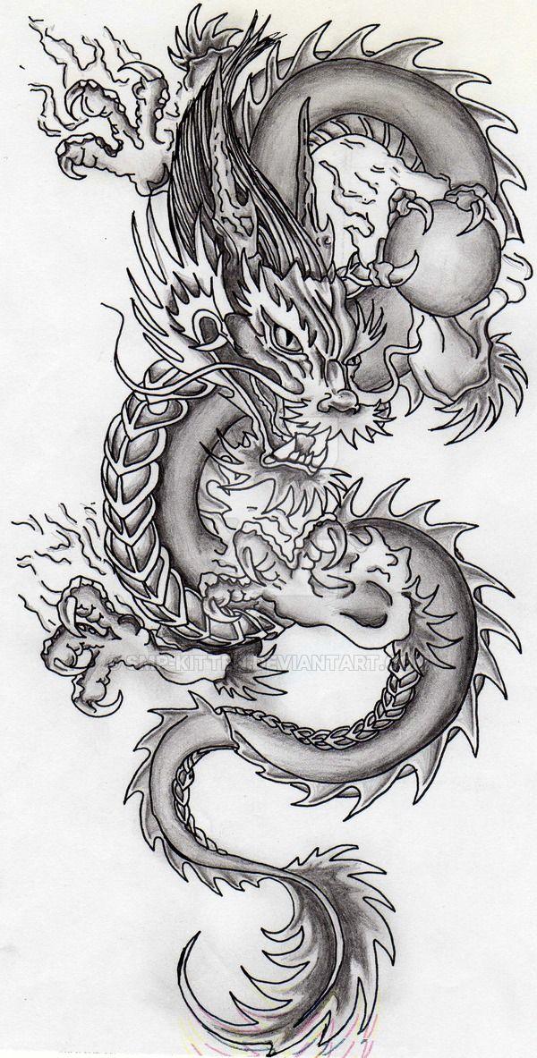 Dragon by SMP-kitten