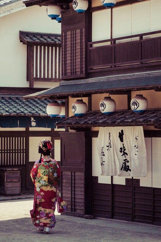 Toei Uzumasa Studio Park, Kyoto, Japan 東映太秦映画村 京都