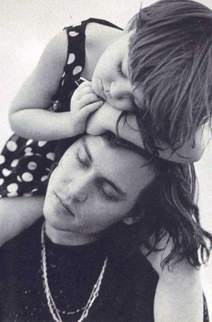 Lily Rose & Johnny Depp by Bruce Weber, 1992