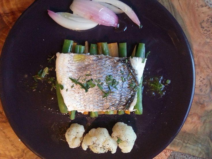 Fatemi cucinare !!!: Filetti di orata al vapore con verdure