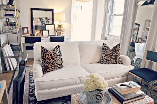 Leopards Sofas And Pillows On Pinterest