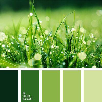 color del espárrago, color verde hierba, colores para la decoración, elección del color, mar verde, paletas de colores para decoración, pino verde, selección de colores, tonos verdes, verde manzana, verde pastel.