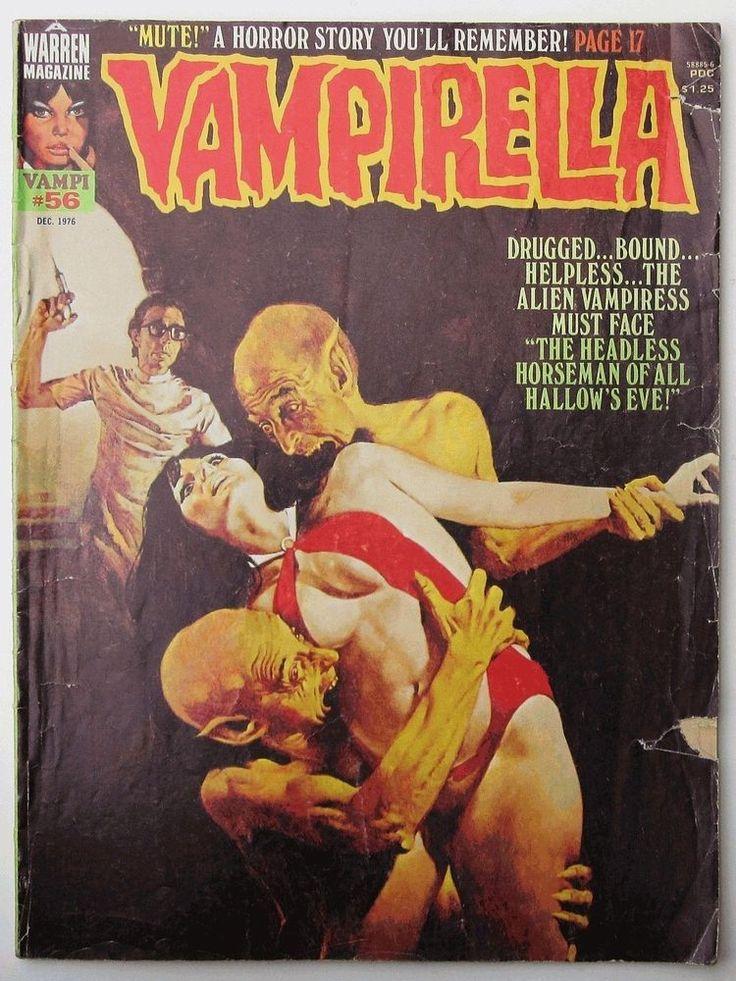 Vampirella #56 December 1976 Magazine Good- 2.0 G Warren Horror Vintage #Vampirella #Vintage #Cyberontix