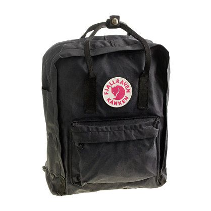 Fjällräven® classic Kanken backpack at J Crew for $65. This is a fantastic example of parents buying stuff for themselves, not their kids. I don't think the shoulder straps even have any padding. And it comes with a seat cover. Why does a kid need a seat cover? Pretentious %*