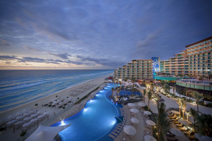 The Hard Rock Hotel in Cancun... ahh Heaven on Earth... 50 more days :)