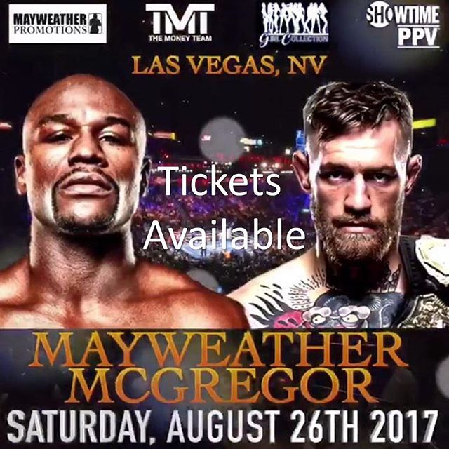 """""""Finally it's official McGregor vs Mayweather and what a fight it's going to be. If you need tickets then please contact us with your enquiries but be quick as they are sure to sell out ✈️🥊 _____________________________________ 📧 info@royalconceptions.com 💻 www.royalconceptions.com 📞 (0)207 8460282 (0)7538 622446 _____________________________________ #tourmanagement  #concierge  #closeprotection  #transport  #events _____________________________________ #royalconceptions #luxury #vip…"""