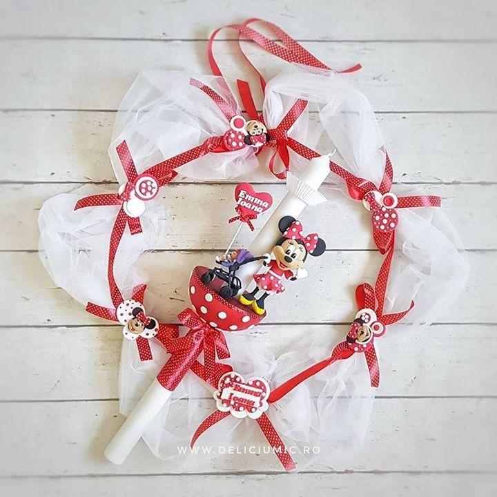 Minnie in actiune  Lumanare de Botez & Aranjamanet pentru Cristelnita. #CustomOrder . #DeliciumMic #minnie #minniemouse #minniemouseparty #botez #baby #botezfermecat #redandwhite #polkadots #cute #baptism #candle #decoration #iloveminniemouse #heart #lumanaribotez #lumanaridebotez #handmade #polymerclay #craft #ilovehandmade #ilovecrafting #baptismcandle #babydecor - http://ift.tt/1ipRjKg -