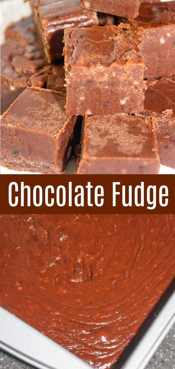 Chocolate Fudge Recipe In 2020 Fudge Recipes Easy Fudge Recipes Fudge Easy