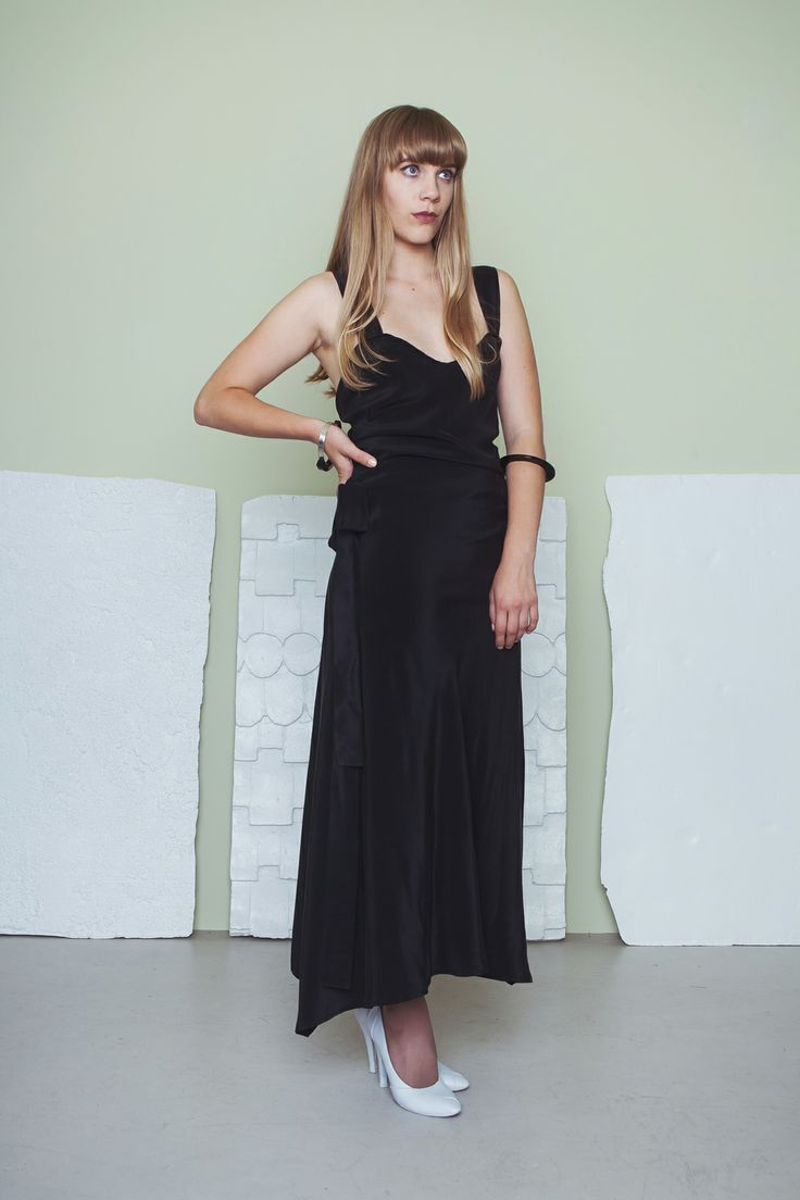 Platinum Dress - Black