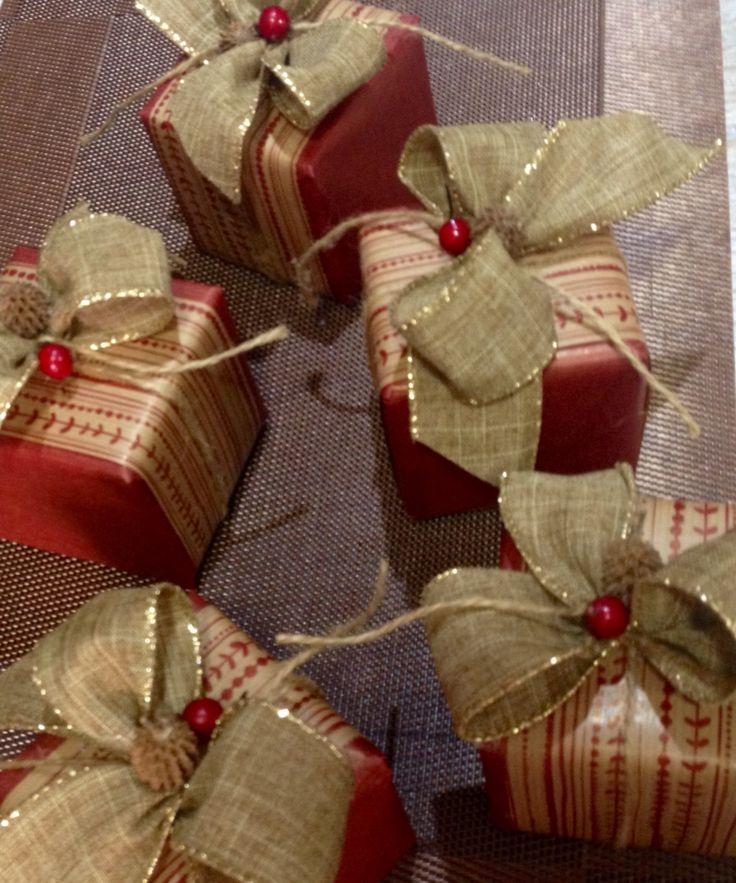 Mis empaques de Navidad