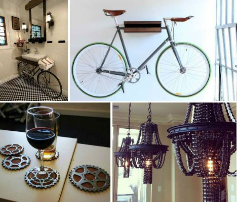 Cycle Of Design 13 Bike Inspired Home Furnishings