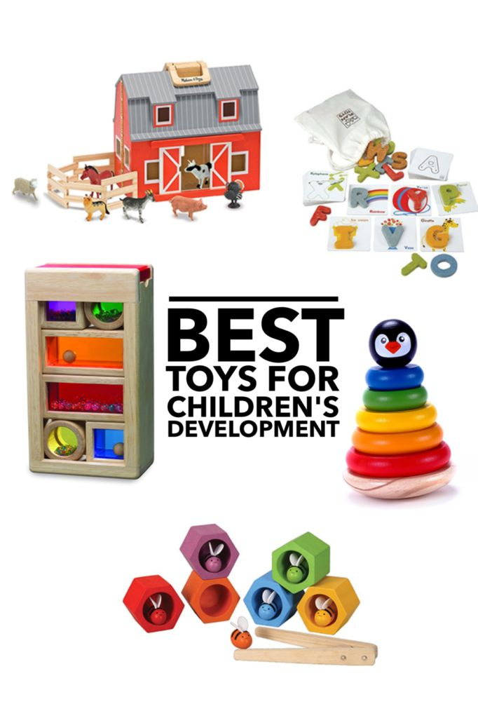 My favorite toys! These wooden toys are great at encouraging children's development, sensory play, fine motor skills, and increasing vocabulary. All available on Amazon https://theautismcafe.com/5-awesome-toys-to-encourage-childrens-development-and-preschool-skills/