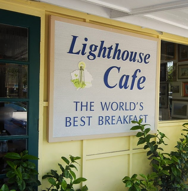 {BLOGGED}: Lighthouse Cafe, it is the best breakfast on the island!