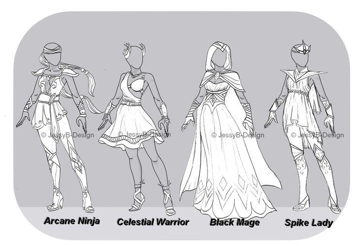 Outfit OTA : Batch.3 ( CLOSE : 0/4 ) by JessyB-Design.deviantart.com on @deviantART
